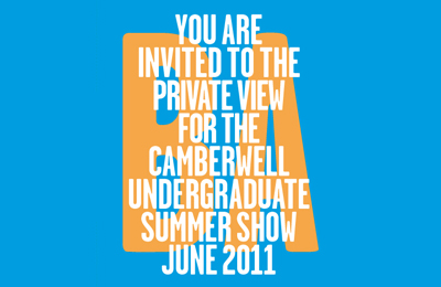 Camberwell Degree Show 2011