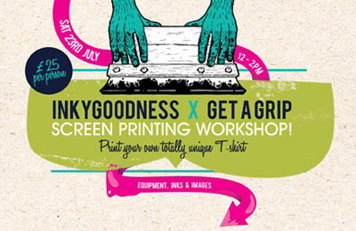 Workshop: Inkygoodness x Get A Grip
