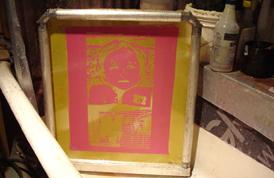 Fecal Face :: A Guide to Screen Printing