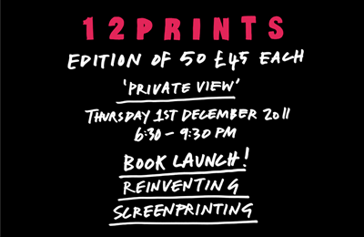 12 Prints Exhibition and Book Launch :: Print Club London