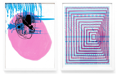 Mike Perry :: Collaborative Prints