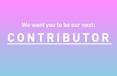 Want to be our next contributor?