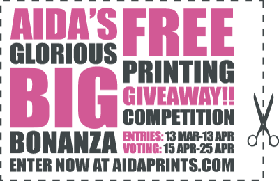 Competition :: Aida Prints Giveaway