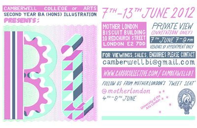 Bi :: Camberwell Second Year Show @ Mother London