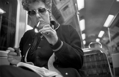 Bob Mazzer  – On the Tube