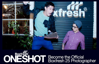 #OneShot | Become the Official Boxfresh 25 Photographer