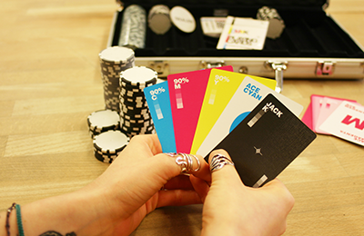CMYK Playing Cards | Hundred Million