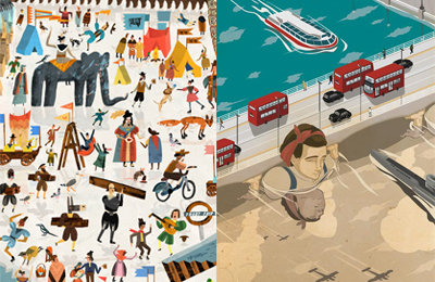Serco Prize for Illustration 2014 :: Finalists Nicholas Stevenson & Eric Chow interviews