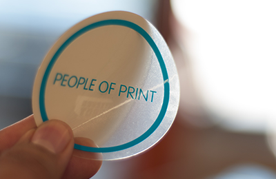 Quality Screen Sticker Printing by Sticker Robot