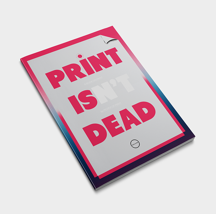 Raffle Print Isn't Dead Magazine Competition London
