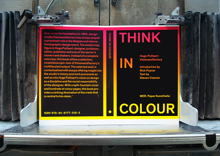 Think In Colour Book Making Of