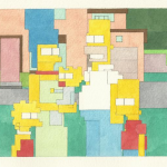 Adam Lister :: Pixelated paintings