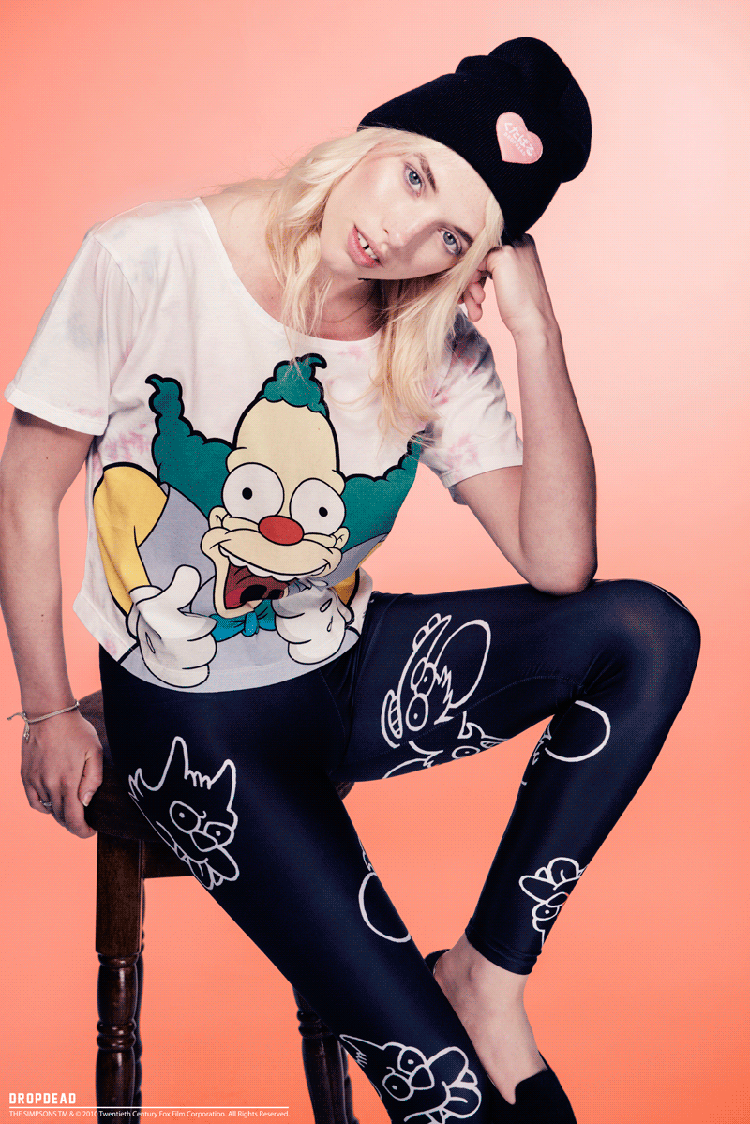 Drop Dead Clothing Itchy Scratchy