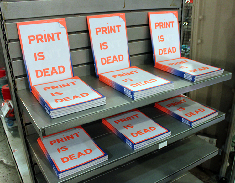 Magazine Launch Print Isn't Dead
