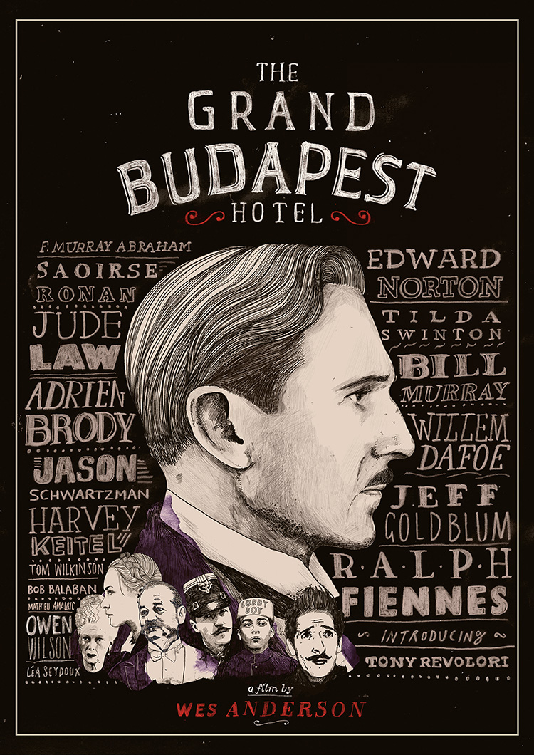 Peter Strain | The Grand Budapest Hotel Poster