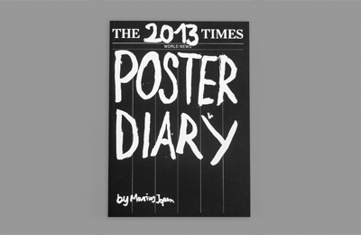 Poster Diary by Marius Jopen