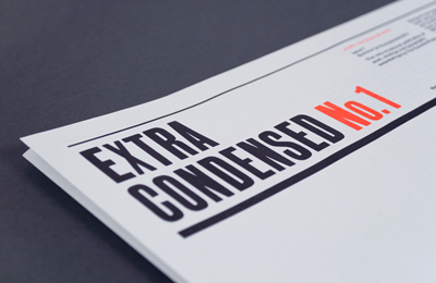 The Counter Press | Extra Condensed No.1