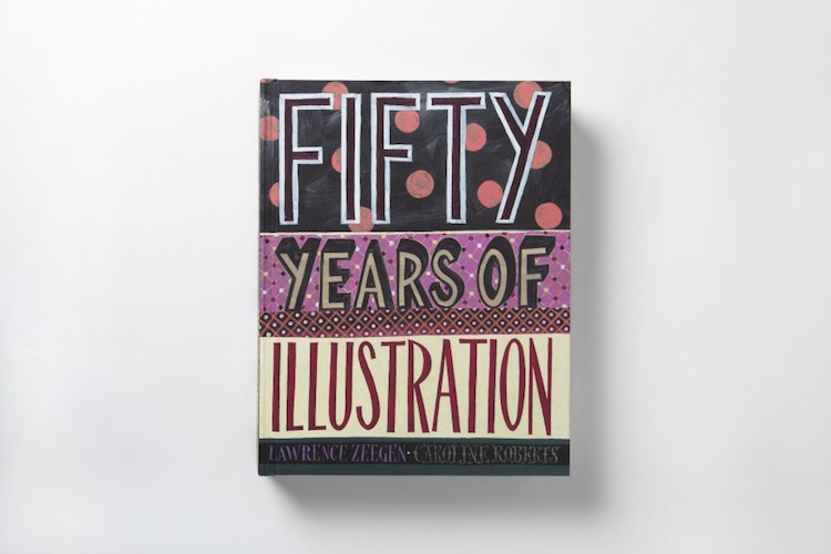 50 Years of Illustration – Front Cover