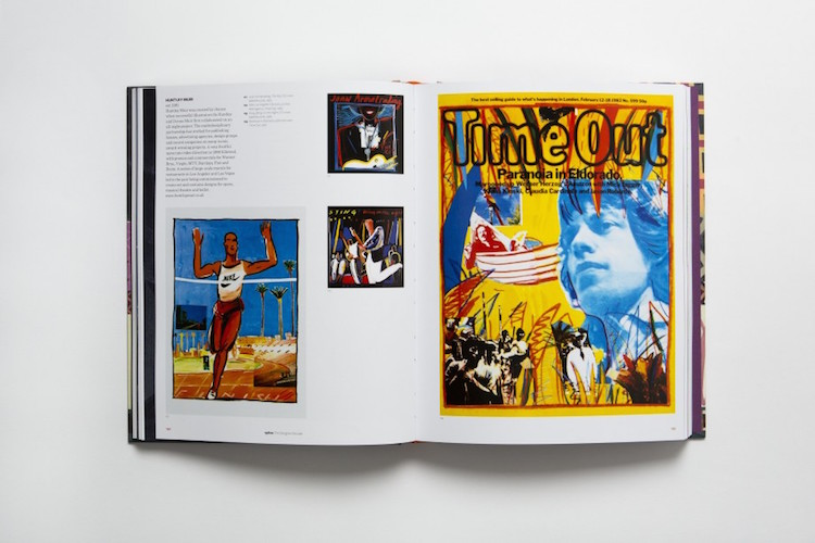 50 Years of Illustration - Timeout spread