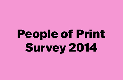 People of Print Survey 2014