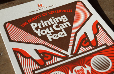 Aaron Draplin: Limited Edition Print for The Beauty of Letterpress