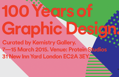 Kemistry Gallery | 100 Years of Graphic Design