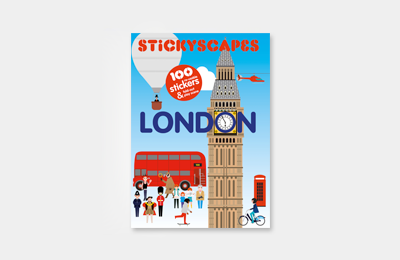 Stickyscapes London by Robert Samuel Hanson