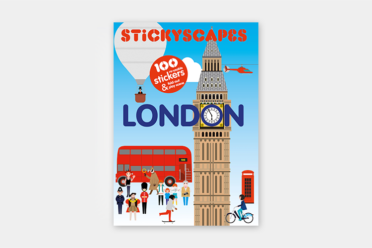 Stickyscapes London | Front Cover