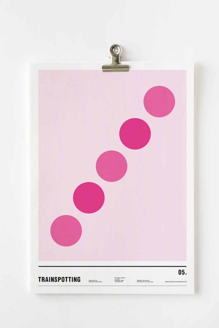 Nick Barclay Minimal Film Posters People Of Print - Minimal movie posters nick barclay