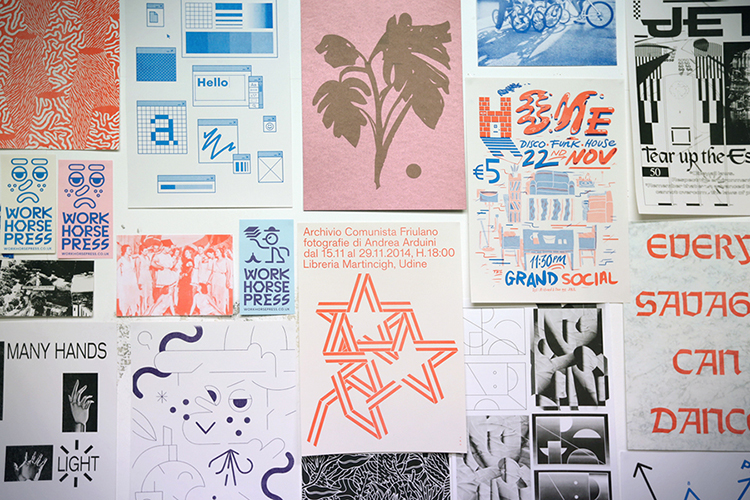 Workhorse Press Risograph Edinburgh RISO Printing