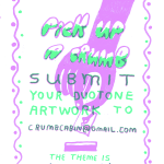 Pick Up a Crumb | Riso Poster Competition