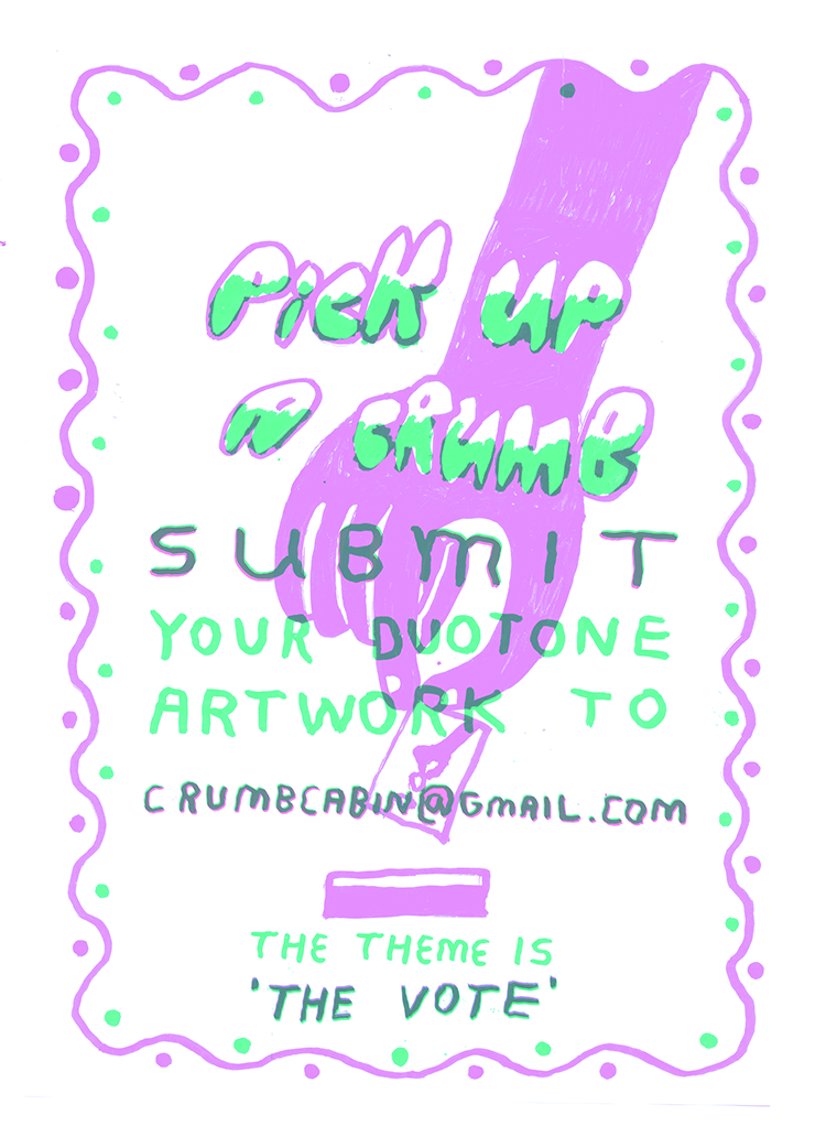 Crumb Cabin Risograph Printing Competition London