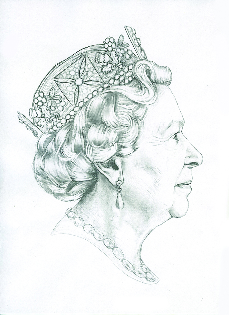 Queen Fifth Portrait