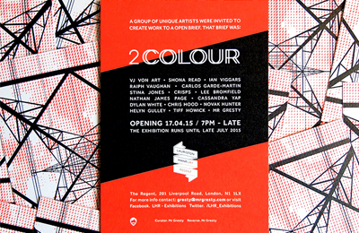 2 Colour Exhibiton | LHR | Mr Gresty