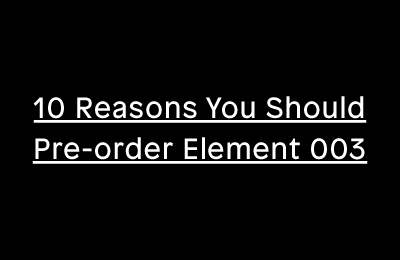 10 Reasons to Order Print Isn't Dead™ Element 003