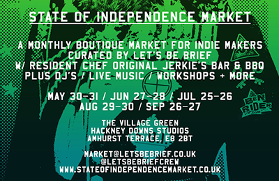 LET'S BE BRIEF | State of Independence Market