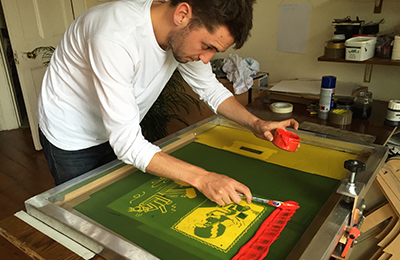 Lawrence Slater | DIY Screenprint Setup