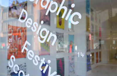 Interview :: Beth Wilson and James Gilchrist of Graphic Design Festival Scotland 2015