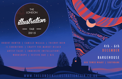 The London Illustration Fair 2015