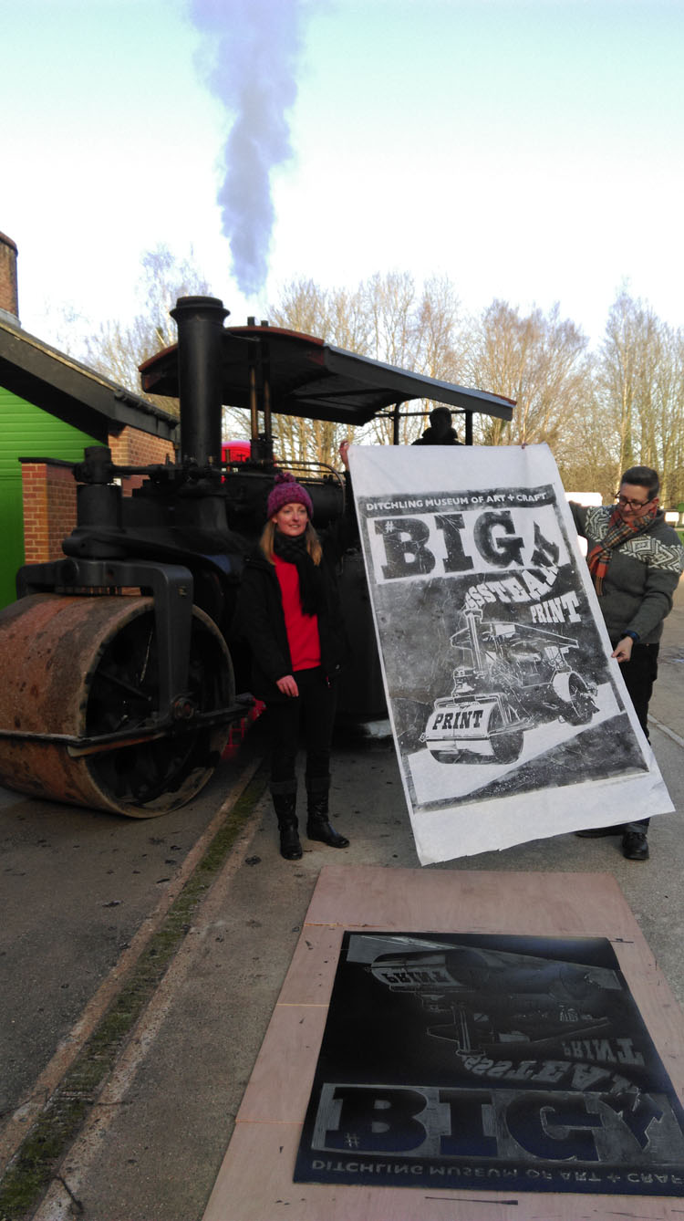 Big Steam Print