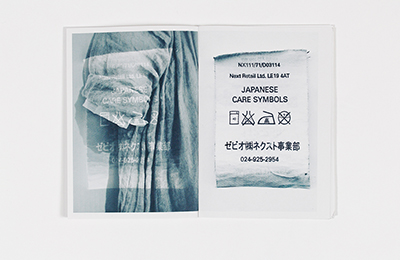 Shimin Chen: Wash Label and Fabric Zine