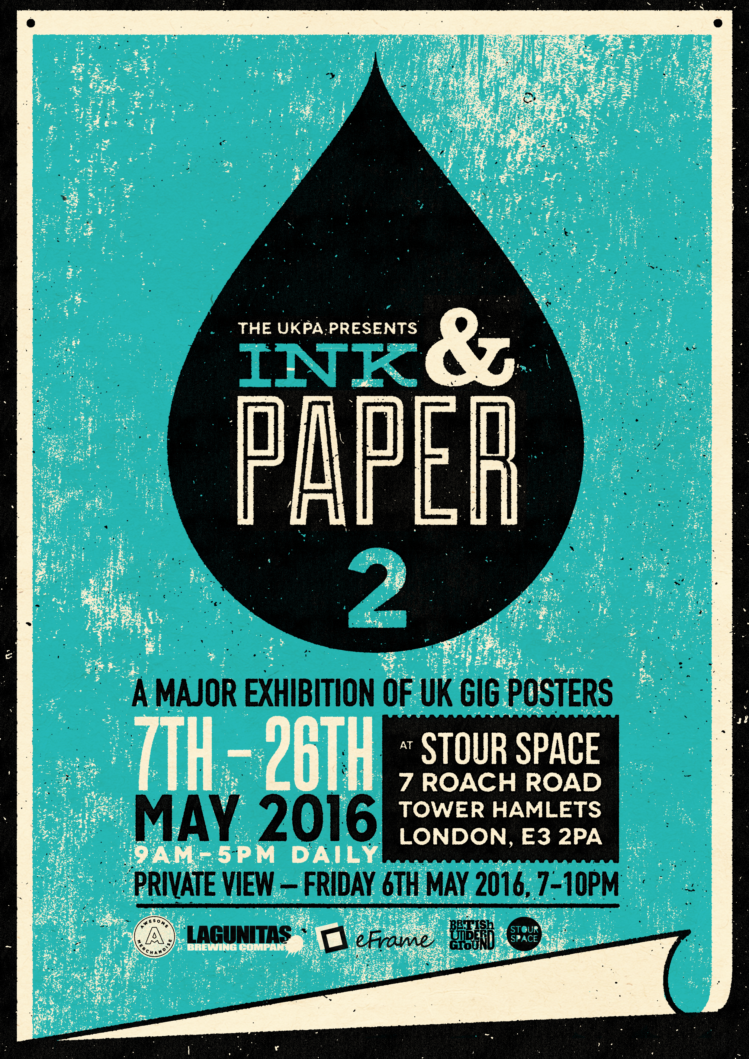INK & PAPER 2 – a major exhibition of UK gig postersPeople of Print