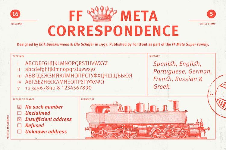 Fonts For Correspondence