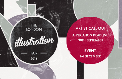 London Illustration Fair 2016 — Artist Call-out