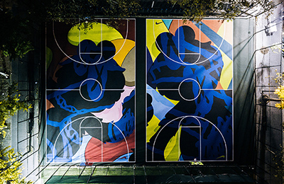 Nike | New York Made: Stanton Street Courts by KAWS