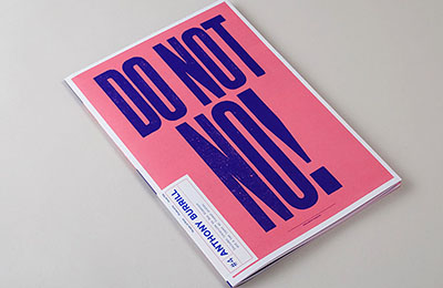 Posterzine Issue 04 | Anthony Burrill