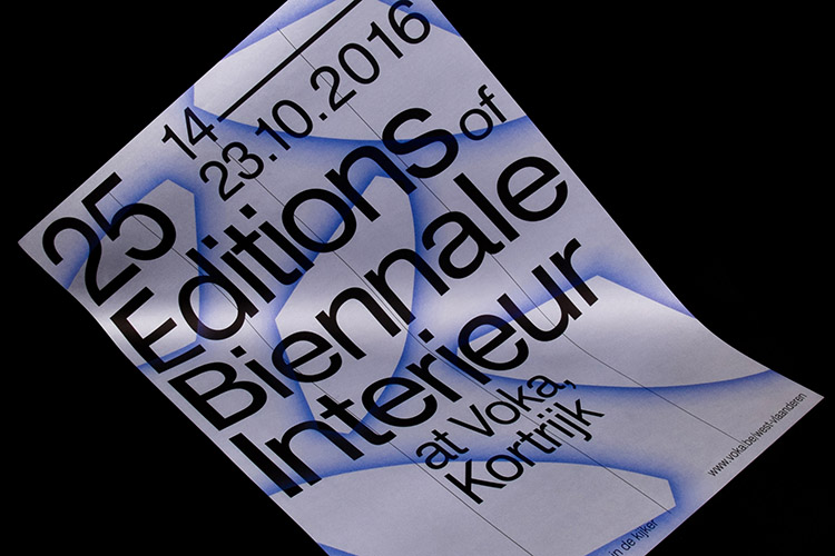 25 Biennales at Biennale Interieur Kortrijk, scenography & graphic design, 2016