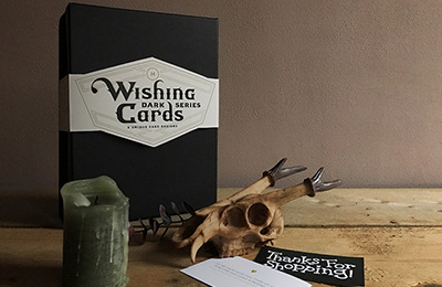 Wishing Cards Dark Series | Marijke Ludwig
