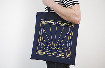 Lee Goater & Aimee Grundell Collaborate For The Queen of Industry Exhibition