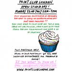 Print Club London :: Open studio day